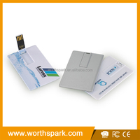 Factory provide name card usb drive,credit card usb ,business card usb bulk cheap 1gb name card usb flash drive