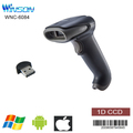 mini 1D CCD bluetooth handle gun type barcode scanner for supermarket and warehouse