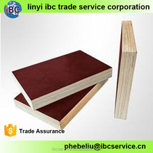 Free sample provided brown color phenolic 18mm film faced plywood,ibc