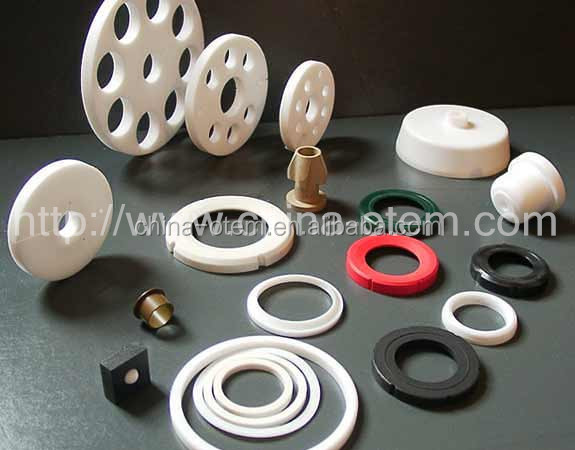 customized excellent chemical stability PTFE Pipe flange gaskets