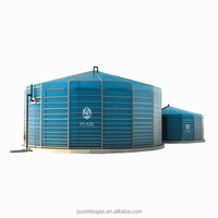 Puxin large size assembly biogas system to convert organic waste into electricity