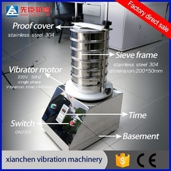 High quality antibiotics analysis laboratory vibrating sifter