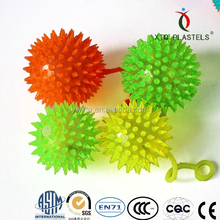 TPR,lovely and flashing yoyo ball,LED light,rubber ball bouncing..