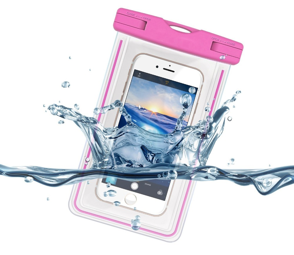 Uinversal Waterproof Bag Underwater Float Cell Phone Pouch Case for Huawei P10 P9