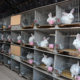 Hot sale industrial rabbit cages