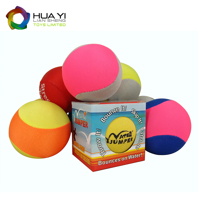 promotional free stress balls with lycra fabric cover
