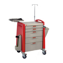 7-Drawer Abs trolley Medical cart Emergency CART Manufacturer