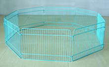Dog Playpen Crate Fence Pet Kennel Play Pen dog Cage -8 Panel