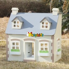 2016 wholesale kids toy wood house,fashion baby toy wood house,popular children toy wood house W06A236