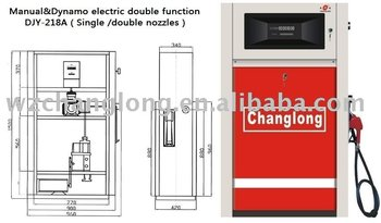 Fuel Dispenser (manual&dynamoelectric double function)