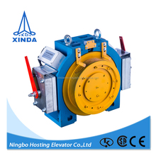 Low vibration and low noise traction machine for lift