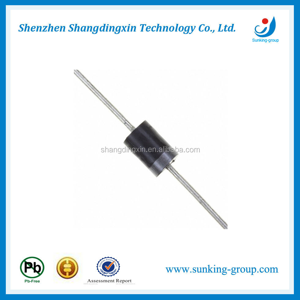 (electronic components)1N5400 thru 1N5408 3A 50-1000V plastic silicon rectifier