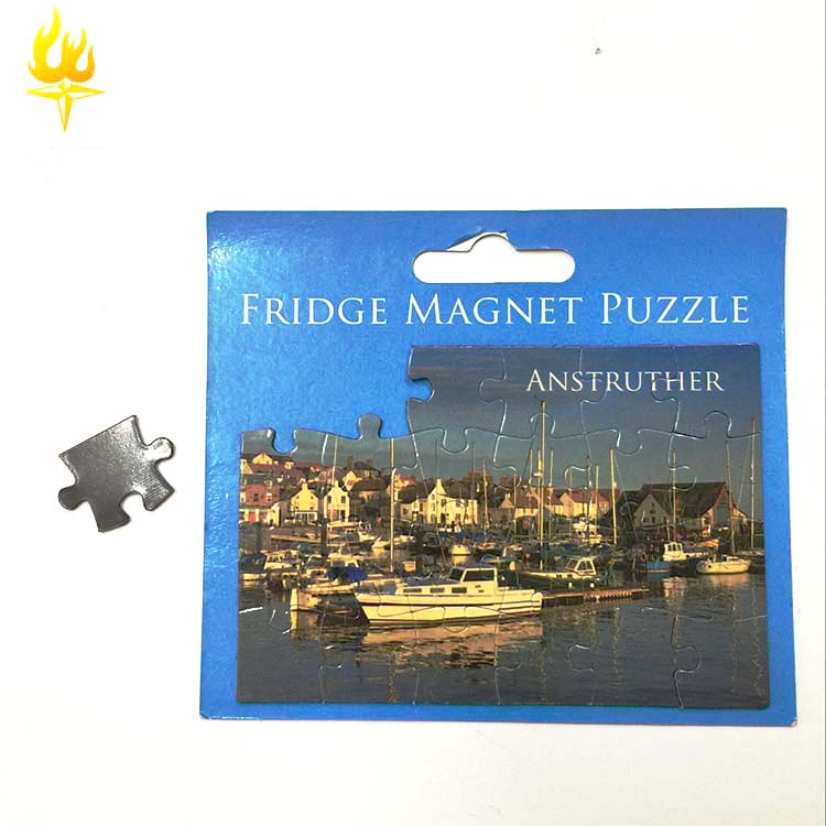 Children educational toy magnet puzzle/magnetic puzzle