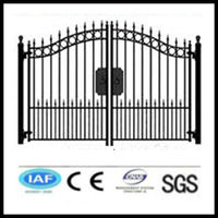 Wholesale alibaba China CE&ISO certificated main gate designs(pro manufacturer)