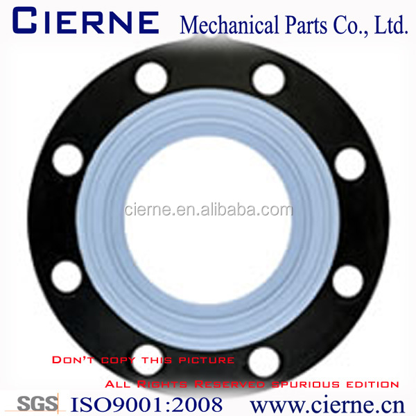 3mm Thickness Black PTFE Bonded EPDM Rubber Gasket Is Made Of Shandong Seal Kit Factory For Mechanical Seal