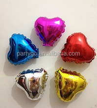 10 inch heart Pure color helium balloons candy color balloon wedding supplies foil ballons