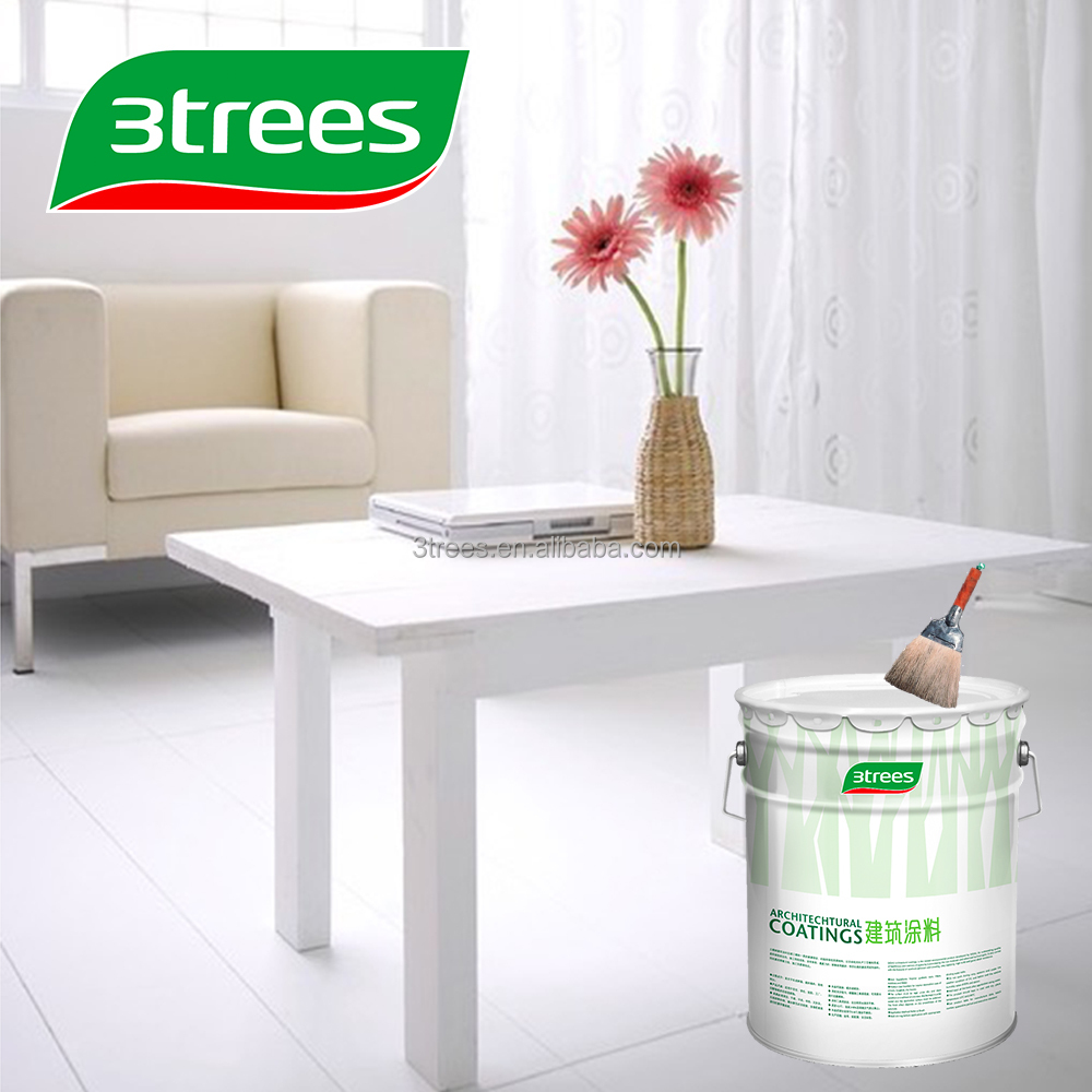 3TREES Low VOC White NC Wood Paint Finish For Furniture Paint