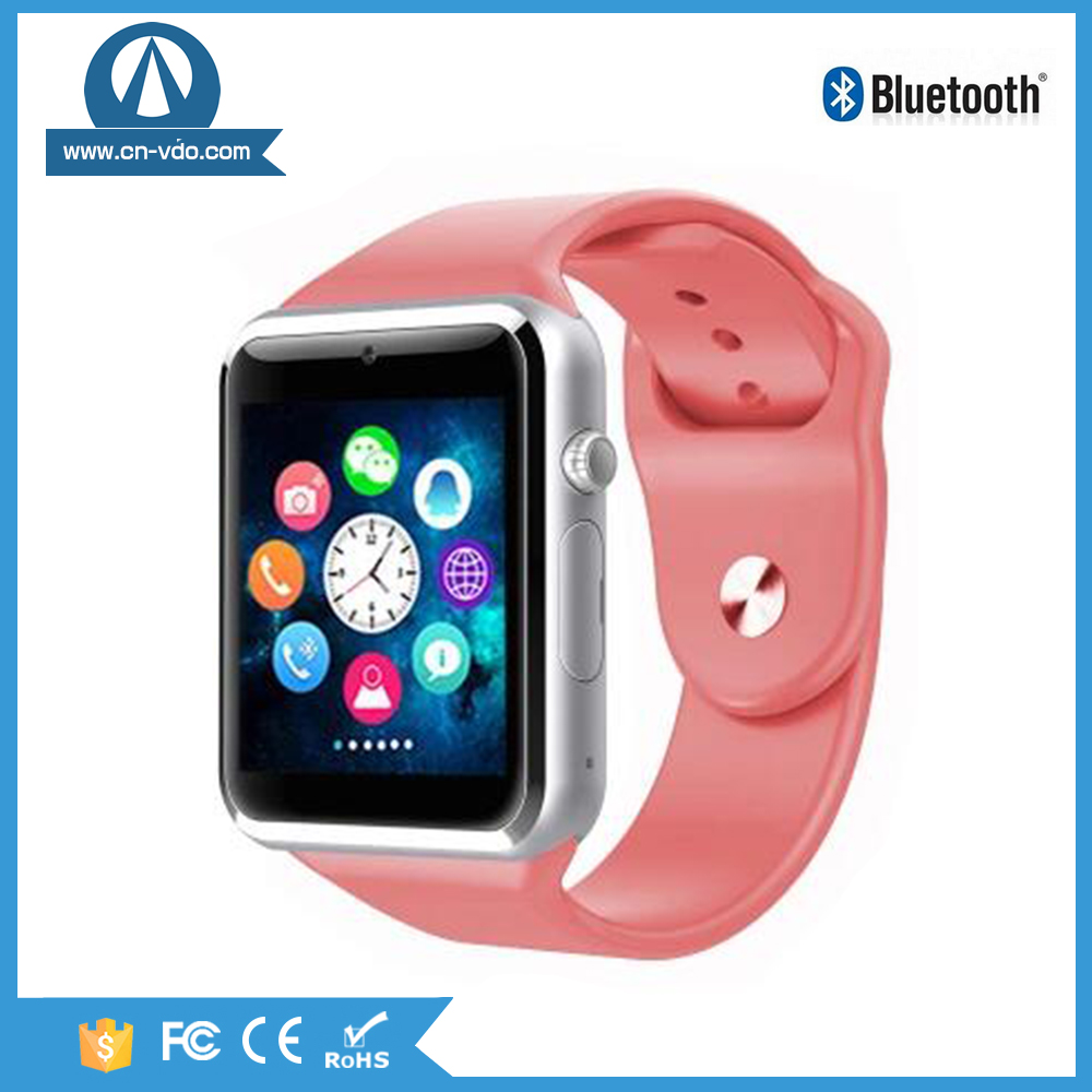 gsm android smart watch a1 with HD resolution watch phone with facebook,twitter,whatsapp