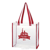 Clear PVC Event Promotional Tote Bags /Custom Tote Bags