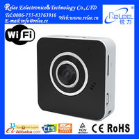 RL102 The world smallest wearable 720P hd outdoor hidden wireless wifi ip camera