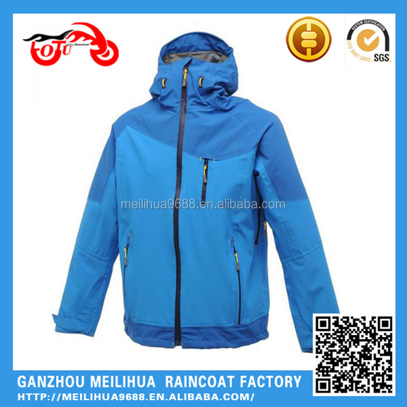 Cool Windbreaker Winter Men Yellow Blue White Personalized Sport Biker Jacket