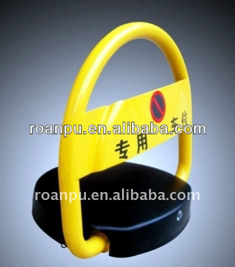 Remote Battery Car Park Lock with Alarm System