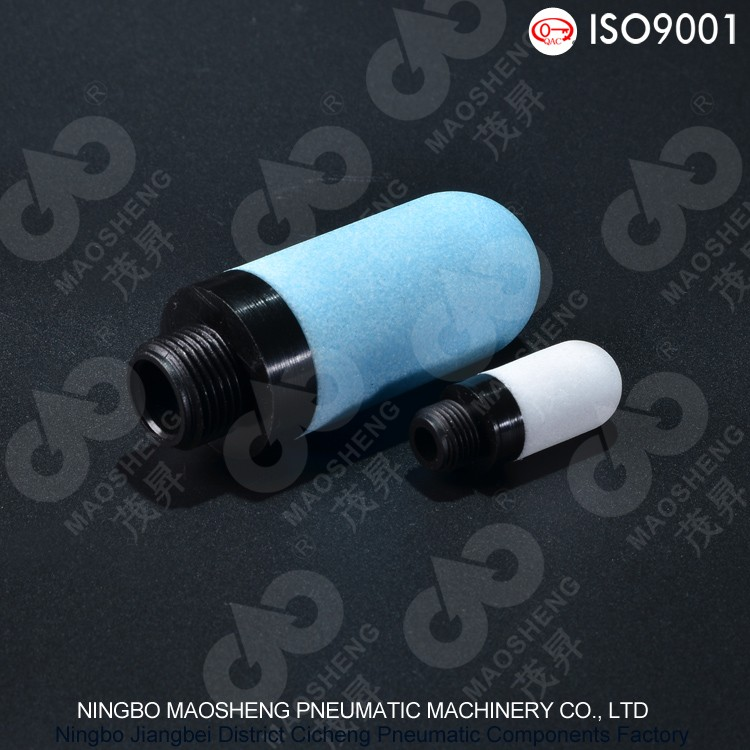 PSE type oil filter Plastic pneumatic exhaust muffler air silencer