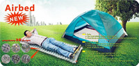 easy airbed inflatable car bed folding air mattress with Pump, folding air bed