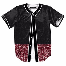 Wholesale Fashion Polyester Blank Culture logo Baseball Jersey with Logo Custom