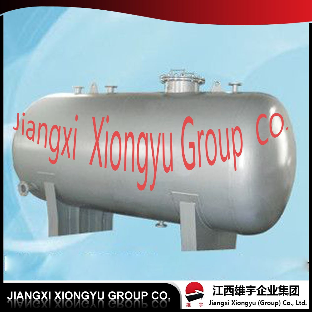 ground horizontal gas storage tank with ISO standard in factory price for sale made in China