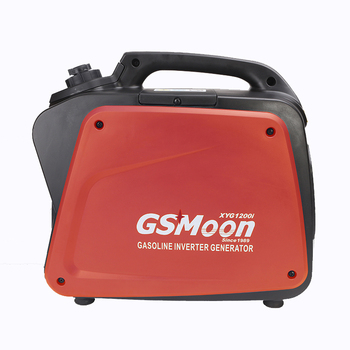 1.2kw silent portable gasoline digital camping home use generator