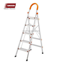 Factory durable quality slip resistant portable and folding aluminium ladder
