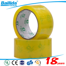 High quality Self Adhesive clear Color BOPP Material waterproof seam sealing tape