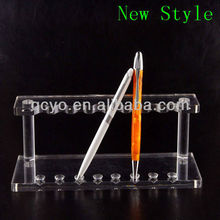 New style acrylic high quality stick on pen holder