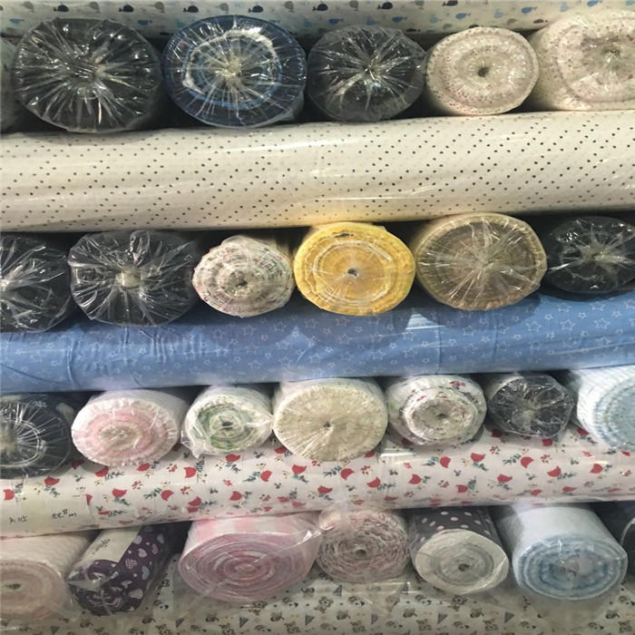 Cotton Flannel Fabric Stock,various beautiful designs
