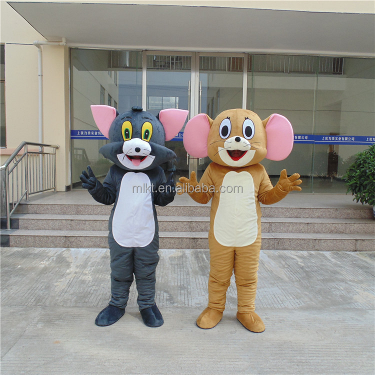 Chinese new year decoration tom and jerry adult costume