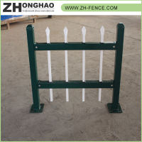 Hot selling Powder Coated Eco-friendly Metal Frame Material park wrought iron fence