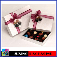 New design & beautiful decorative chocolate boxes packaging