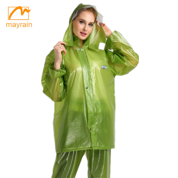 high quality breathable rainsuit for adult