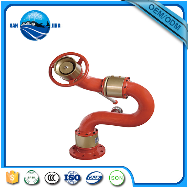 CE certificates water power Fire Fighting Water Foam Monitor