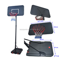 Standing basketball hoop outdoor/indoor TB-9610