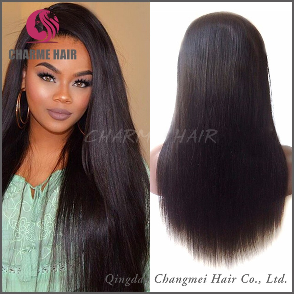 2016 Fashion Top Quality 100% Remy Brazilian Hair Lace Front Wig