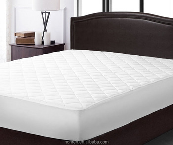 OEKO TEX quilted microfibre mattress pad protector polyester topper