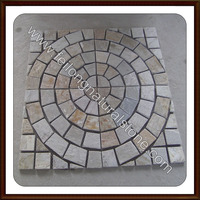 yellow slate patio paver stones for sale