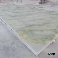 KKR acrylic translucent solid surface decorative wall panels