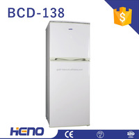 Home Use Fridge Upright Refrigerator Double
