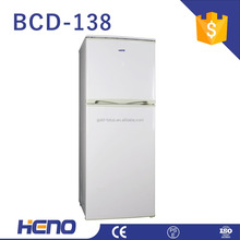 Home use fridge upright refrigerator Double Door combined freezer and refrigerator