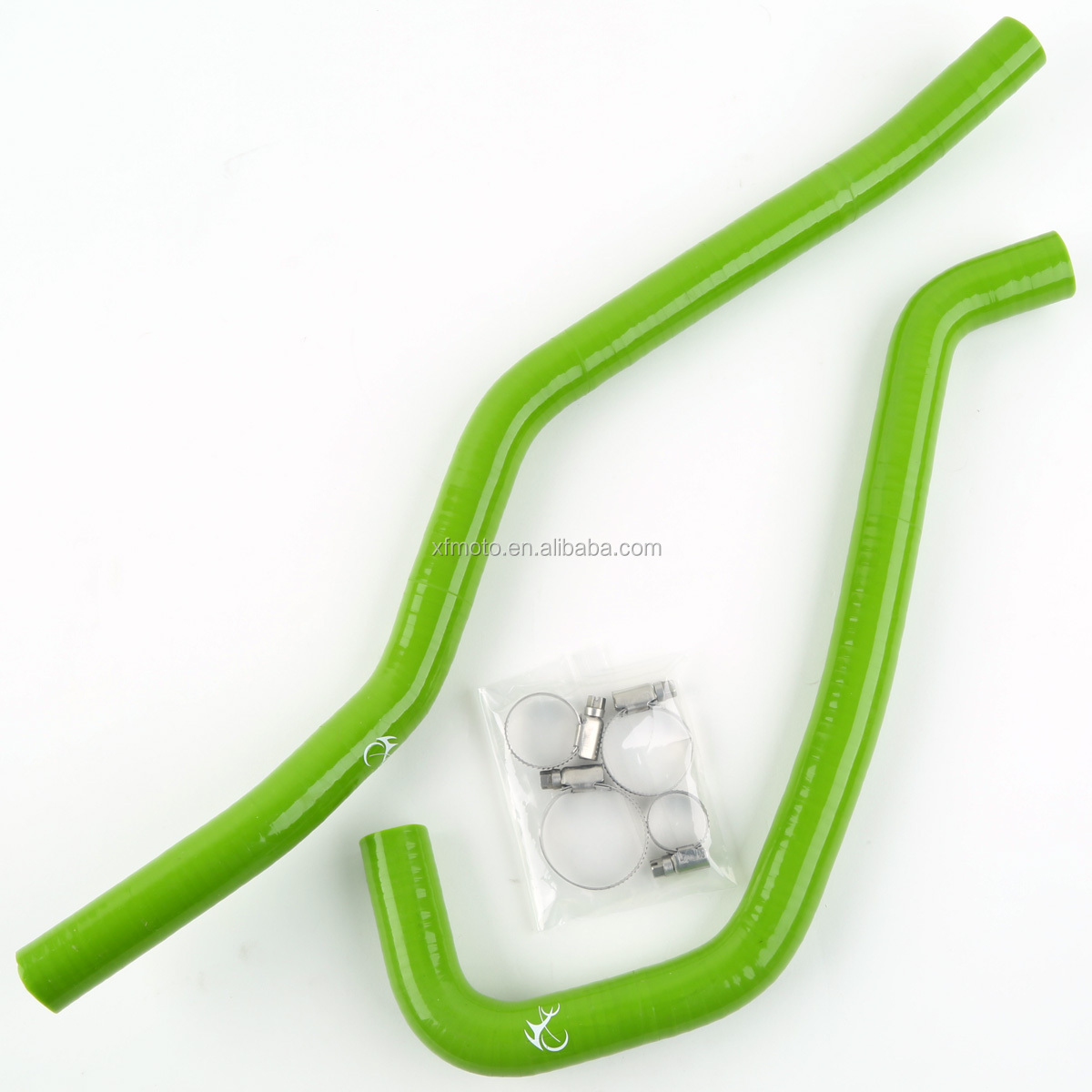 Green Motorcycle Silicone Radiator Hose For Yamaha Raptor 700 2006-2010 07 08 09
