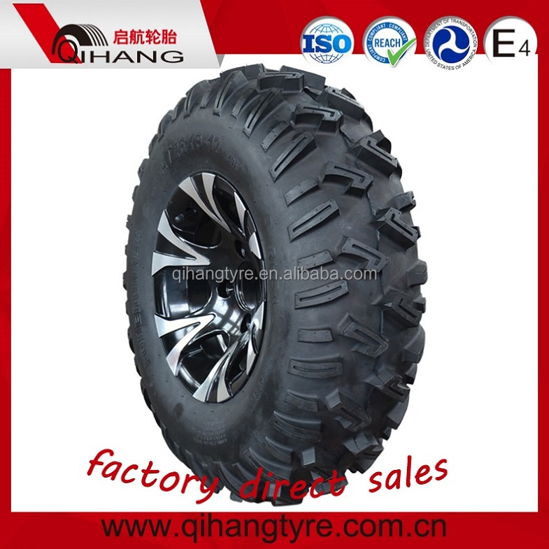 4x4 Wheels Tubless ATV Tires 26x9-12