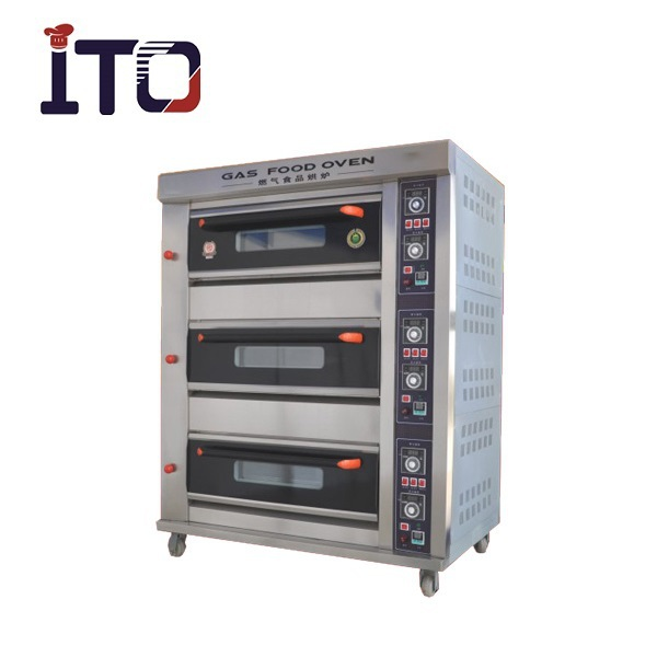 BHM-6QH Gas Turkey Oven with Grill